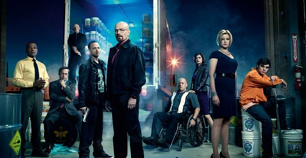 Breaking Bad cast photo Vince Gilligan on Better Call Saul Cameos & the Breaking Bad Finale
