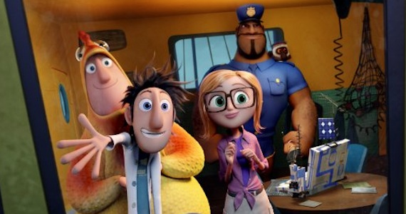 Brent Flint Lockwood Sam Sparks Earl Steve Cloudy Chance of Meatballs 2 Weekend Box Office Wrap Up: November 3, 2013