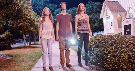 Britt Robertson Colin Ford and Mcakenszie Lintz in Under the Dome Curtains Under the Dome Season 1 Finale Review