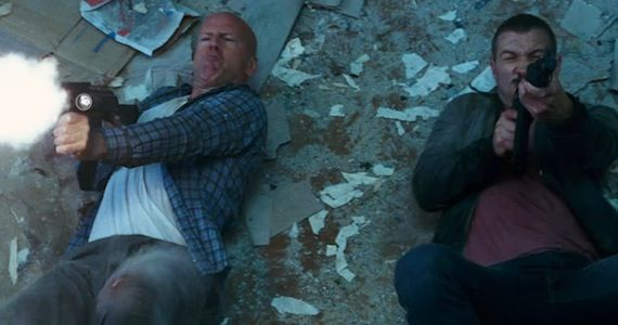 Bruce Willis Jai Courtney Die Hard 16 New A Good Day to Die Hard Images: McClane & Son Take on Russia