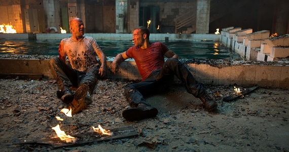 Bruce Willis and Jai Courtney in A Good Day to Die Hard A Good Day to Die Hard Review