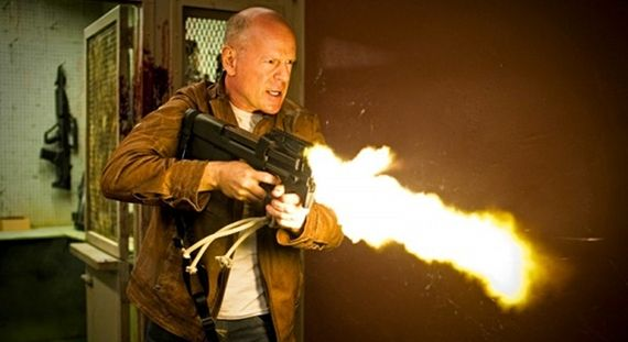 Bruce Willis in Rian Johnsons Looper Screen Rants (Massive) 2012 Movie Preview