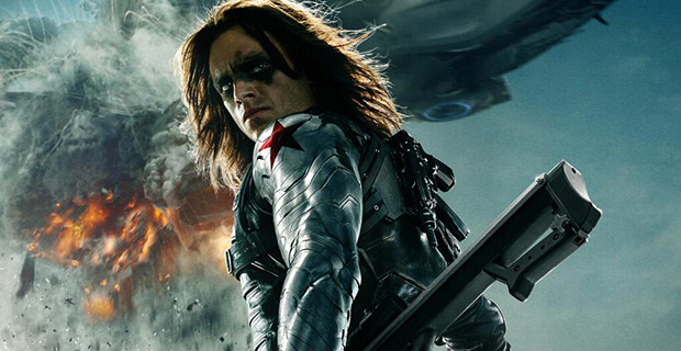 Bucky Barnes The Winter Soldier Poster The Winter Soldier Spotlighted in New Captain America 2 Poster