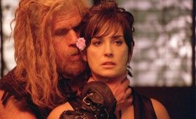 Bunraku image2 Demi Moore and Ron Perlman 280x170 First Look: Samurai Assassin Film Bunraku
