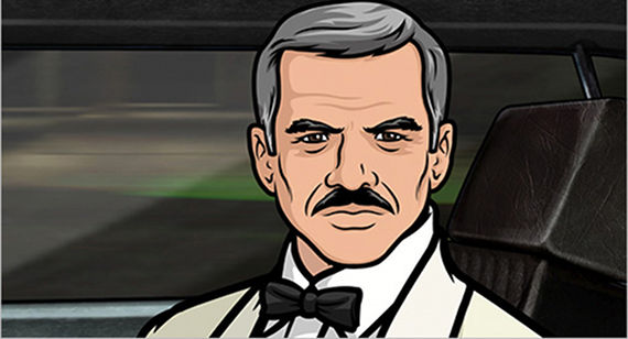 Burt Reynolds in Archer Burt Reynolds to Guest Star on Archer
