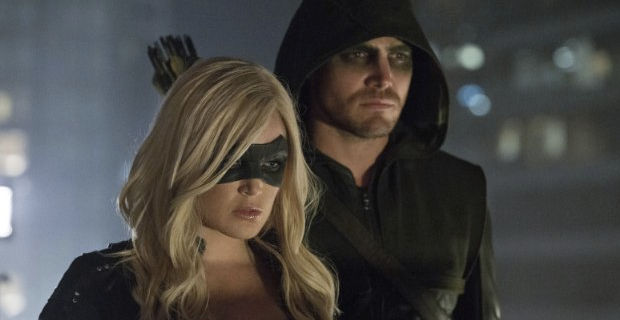 Caity Lotz and Stephen Amell in Arrow Crucible Arrow: Black Canary Revealed   What Did You Think?