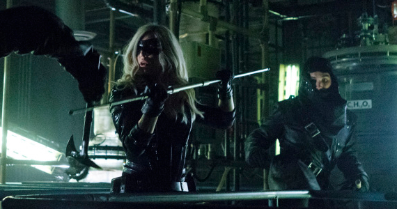 Caity Lotz in Arrow League of Assassins Arrow: Masks and Secrets Cant Hide Things Forever