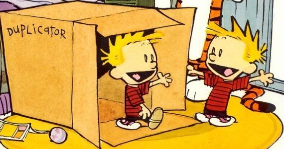 Calvin and Hobbes duplicator Calvin & Hobbes Creator Believes Theres No Upside to a Movie Adaptation