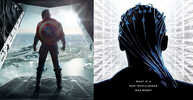 Cap 2 vs. Transcendence Box Office Prediction: Captain America: The Winter Soldier vs. Transcendence