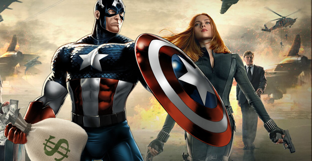 Captain America 2 Box Office Records Captain America 2 Breaks April Box Office Records [Updated]