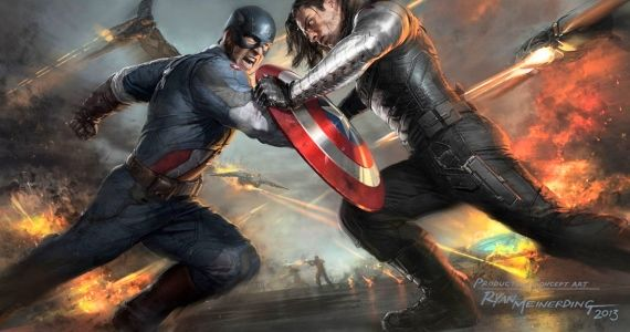 Captain America 2 Concept Art Winter Soldier Captain America: The Winter Soldier Directors Talk Politics, Widow & The Stealth Suit