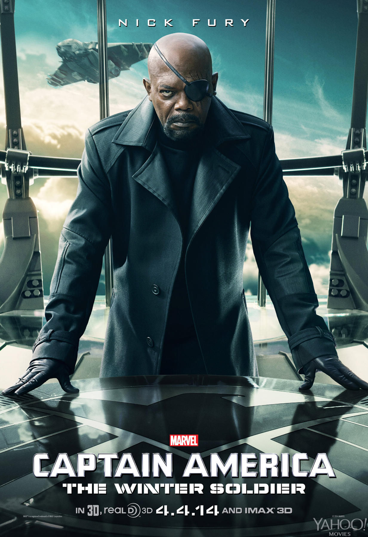 Captain America 2 Nick Fury Poster Captain America 2   Nick Fury Poster