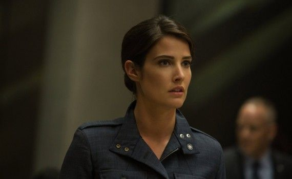 Captain America 2 Official Photo Cobie Smulders Maria Hill New Uniform 570x350 New Captain America 2 International Trailer & Photos