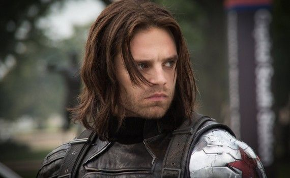 Captain America 2 Official Photo Winter Soldier Sebastian Stan close up 570x350 New Captain America 2 International Trailer & Photos