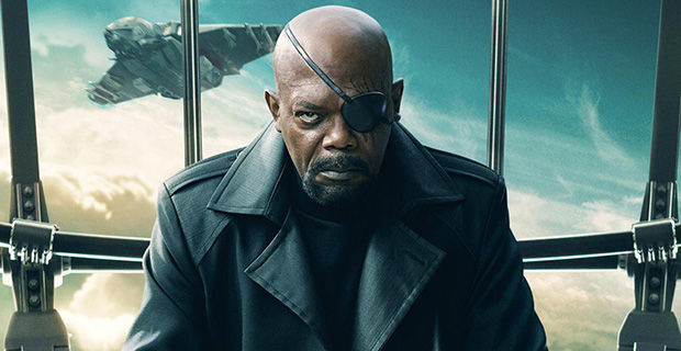 Captain America 2 Samuel L Jackson Nick Fury Poster New Captain America 2 TV Commercial Might Be Too Spoilery