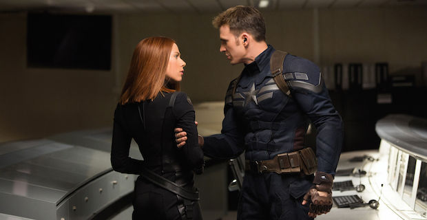 Captain America 2 Scarlet Johansson Black Widow Chris Evans Marvel Confirms Captain America 3 for 2016 Batman vs. Superman Showdown