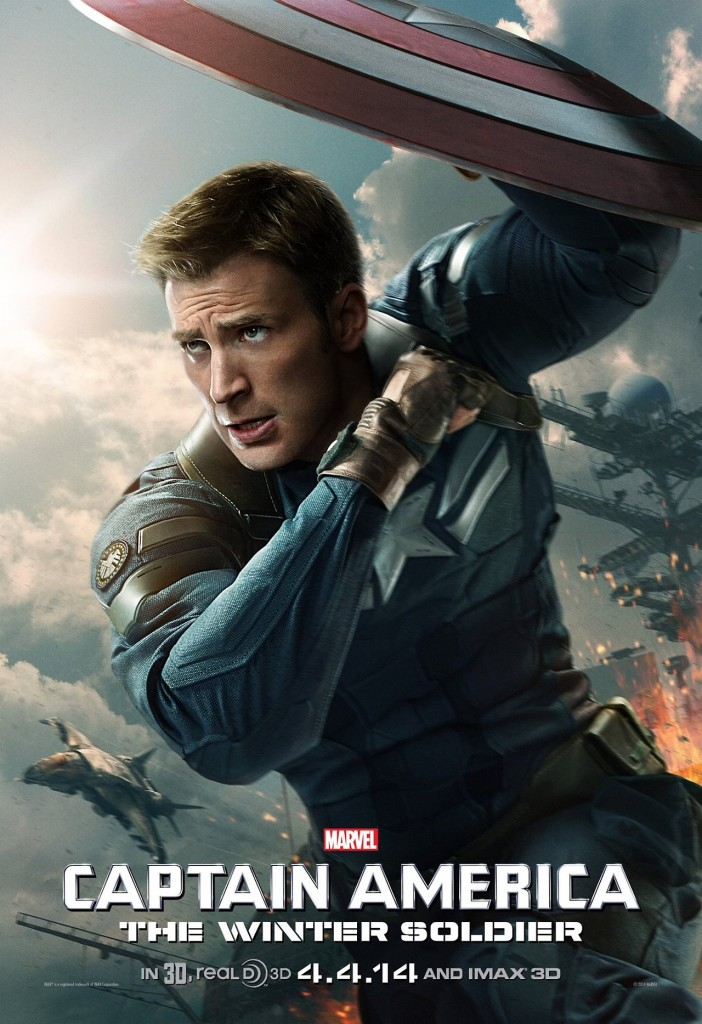 Captain America 2 Steve Rogers SHIELD Poster 702x1024 The Winter Soldier Spotlighted in New Captain America 2 Poster