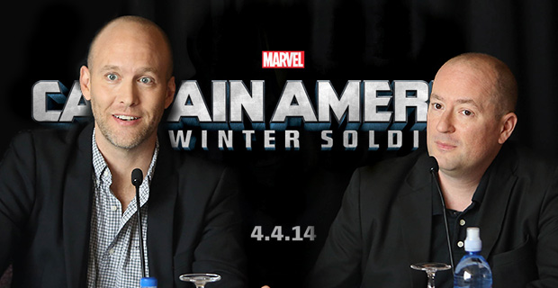Captain America 2 Writers Christopher Markus Stephen McFeely Captain America 2 Writers Talk Characters & Hint At R Rated Marvel Project