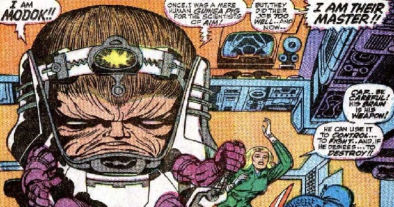 Captain America 3 MODOK Kirby 8 Villains We Want to See in Captain America 3