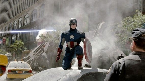 Captain America Battle Avengers 570x320 Captain America 2 Confirmed For April 2014; Ant Man Next?