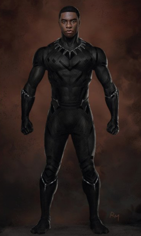 Captain America Civil War New Black Panther Concept Art