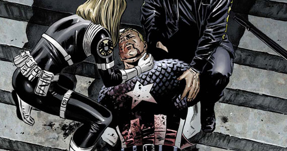 Captain America Death Marvel Comics Age of Ultron: Joss Whedon Discusses Killing Off An Avenger