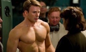Captain America Evans Atwell 280x170 Official First Look At Chris Evans As Captain America [Updated]