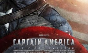 Captain America First Avenger Poster Chris Evans 280x170 Captain America: The First Avenger Trailer 2; Patriotic & Vintage Posters