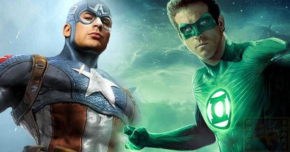 Captain America and Green Lantern