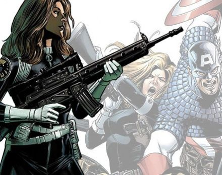 Captain America SharonCarter Head The Avengers Will Have Multiple Female Characters; New Captain America Set Images