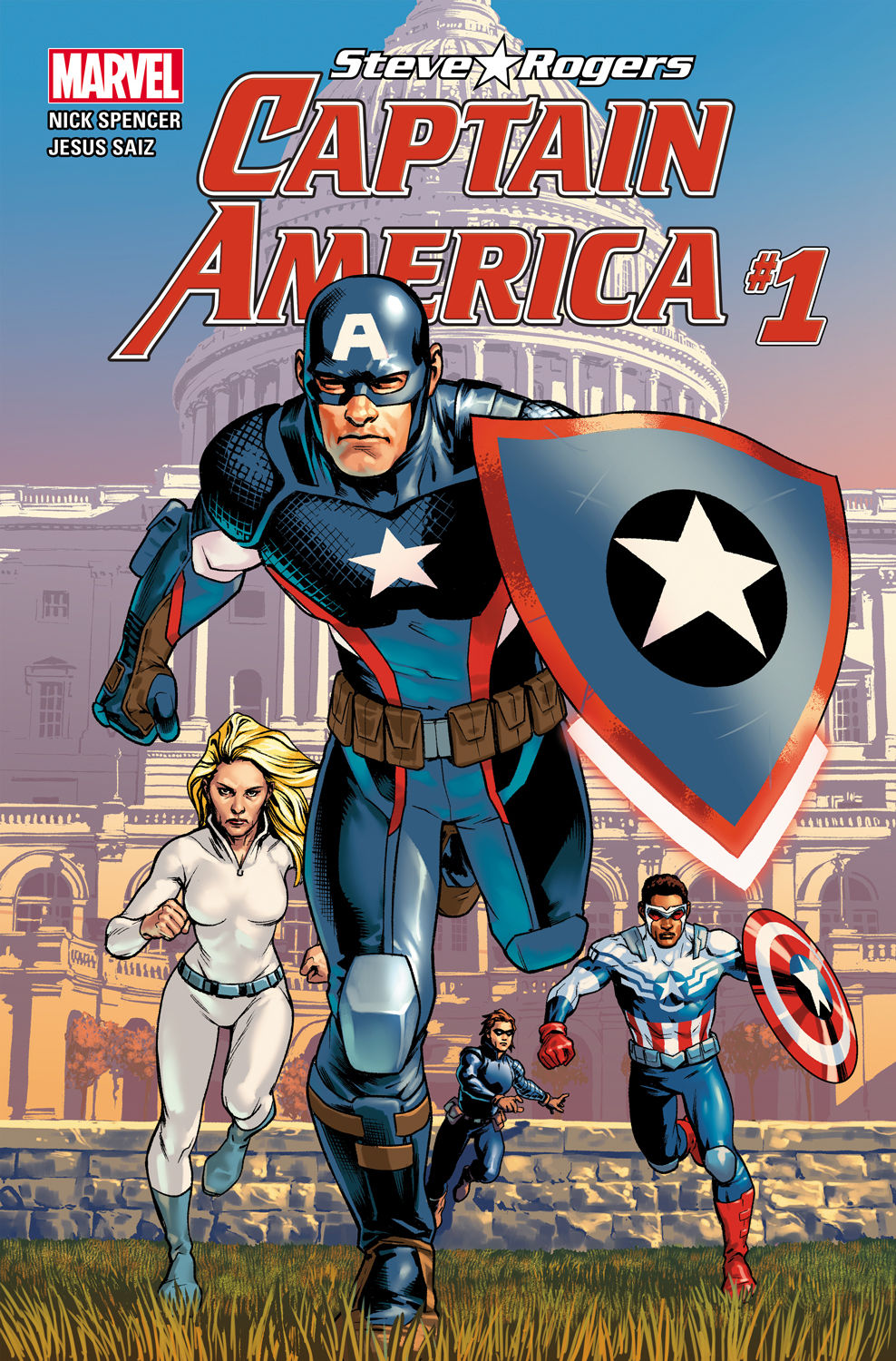marvel s captain america steve rogers launches on free comic book day. Black Bedroom Furniture Sets. Home Design Ideas
