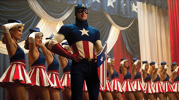 Captain America The First Avenger USO Show The Dancing Captain America of Comic Con [Video]