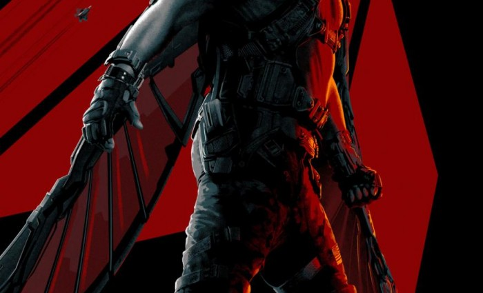 Captain America The Winter Soldier Falcon poster 700x425 Captain America: The Winter Soldier Falcon Featurette and Stylized Posters