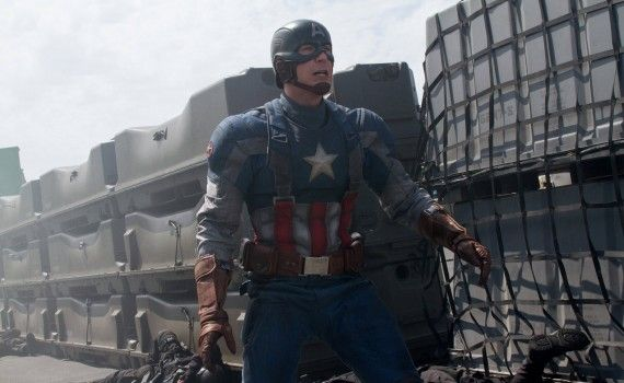 Captain America The Winter Soldier Official Photo Flashback 570x350 New Captain America 2 International Trailer & Photos