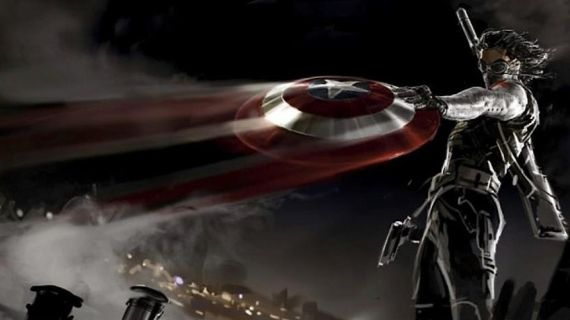 Captain America Winter Soldier Concept Art New Captain America 2 Battle Artwork & Amazing Spider Man 2 Harry Osborn Image