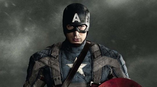 Captain America posters with Chris Evans New Captain America Character Posters
