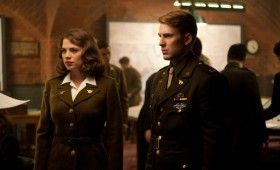 Captain America steve rogers peggy carter 280x170 Official First Look At Chris Evans As Captain America [Updated]