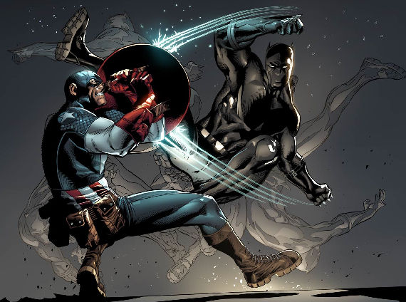 Captain AMerica Black Panther Kevin Feige Talks New Characters in Avengers 2