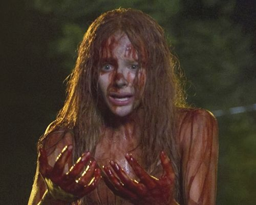 Carrie (2013) starring Chloe Moretz and Julianne Moore