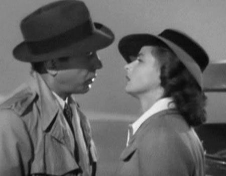 Casablanca unscripted moment