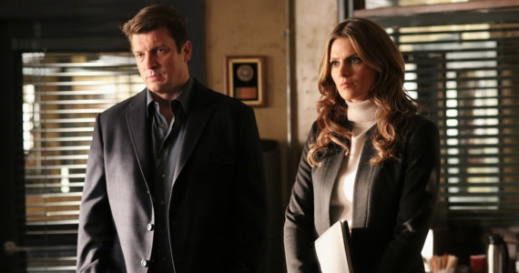 Castle and Beckett in Castle