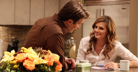 Castle season 5 episode 10 Castle and Kate Castle Season 5, Episode 10: Significant Others   Full House