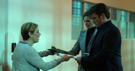 Castle season 5 episode 17 Castle Beckett Nurse Castle Season 5, Episode 17: Freak Out