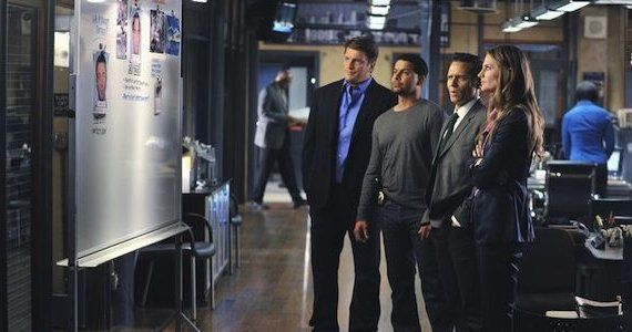 Castle season 5 episode 23 the human factor team photo Castle Season 5, Episode 23 Review: Cop Blocked