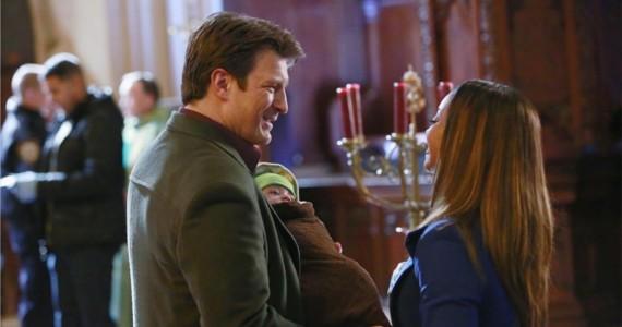 Castle Season 6 Episode 10 Castle Lanie Castle: Oh, Baby!