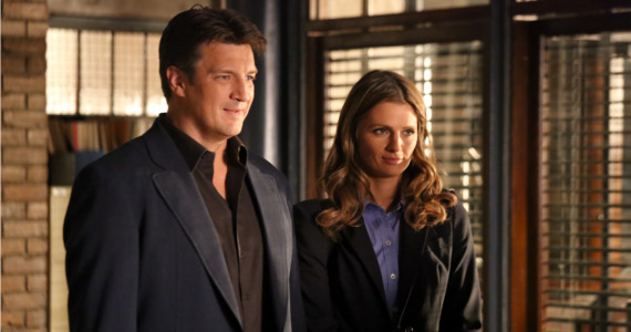Castle Season 6 episode 3 Beckett Castle Castle: Kate Beckett and Mr. Spock