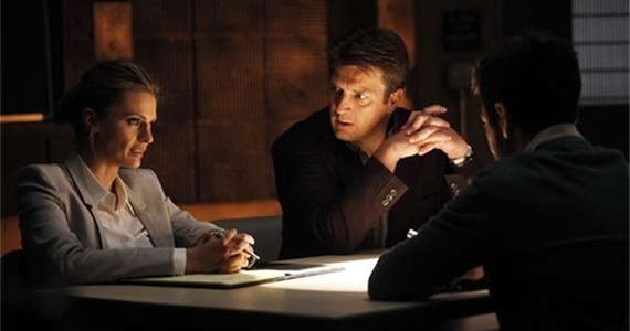 Castle Season 6 episode 5 Beckett Castle Interrogation Castle : All Out of Time?