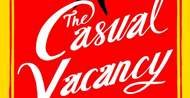Casual Vacancy Cover J.K. Rowlings The Casual Vacancy is Becoming an HBO Mini Series