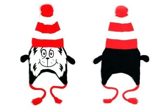 Cat in the Hat Dr. Seuss Laplander Hat 570x380 Cat in the Hat Dr. Seuss Laplander Hat