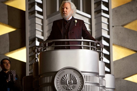 Catching Fire Official Still Photo President Snow Ruling 570x380 Donald Sutherland as President Snow in Catching Fire